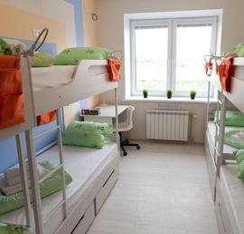8-ми местные апартаменты для мужчин