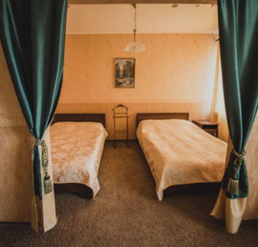 Студия двухместная в гостинице
